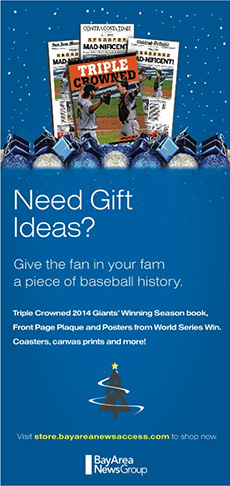 San Francisco Giants 2014 World Series Book Promotion |  Horsham, PA | Marketing G2, LLC | 267-657-0207